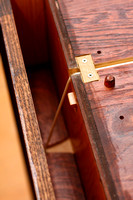 Secret Compartment, Latch and Counter Weight Cord